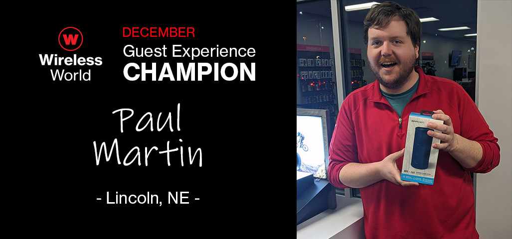 December Guest Experience Champion