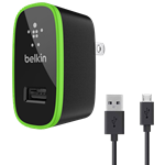 Belkin Home Charger with microUSB Cable