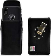 iPhone 11/Pro/Pro Max/XS/X Turtleback Leather Holster w/ Rotating Horizontal Belt Clip