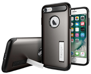 Spigen iPhone 8/7 Slim Armor Case with Kickstand