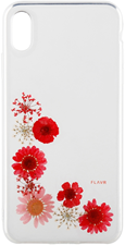 FLAVR iPhone XS Max iPlate Real Flower Case