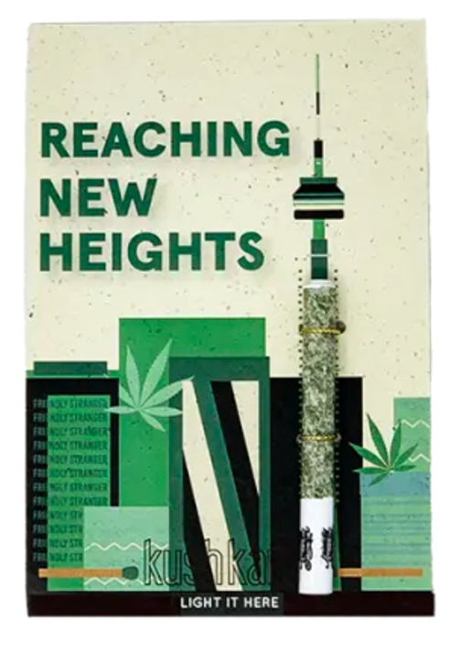 Reaching New Heights Post Card