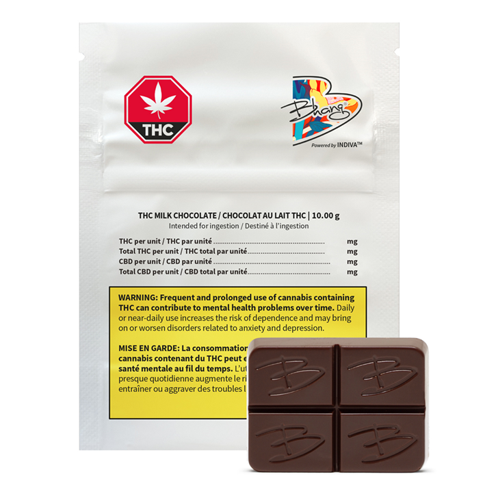 THC Milk Chocolate - Bhang - Edible