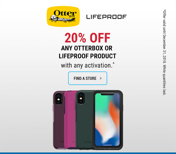 Save 20% on Otterbox Cases