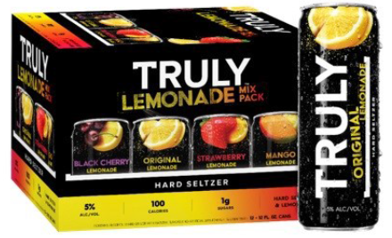 12C Truly Lemonade Mix Pack 4260ml
