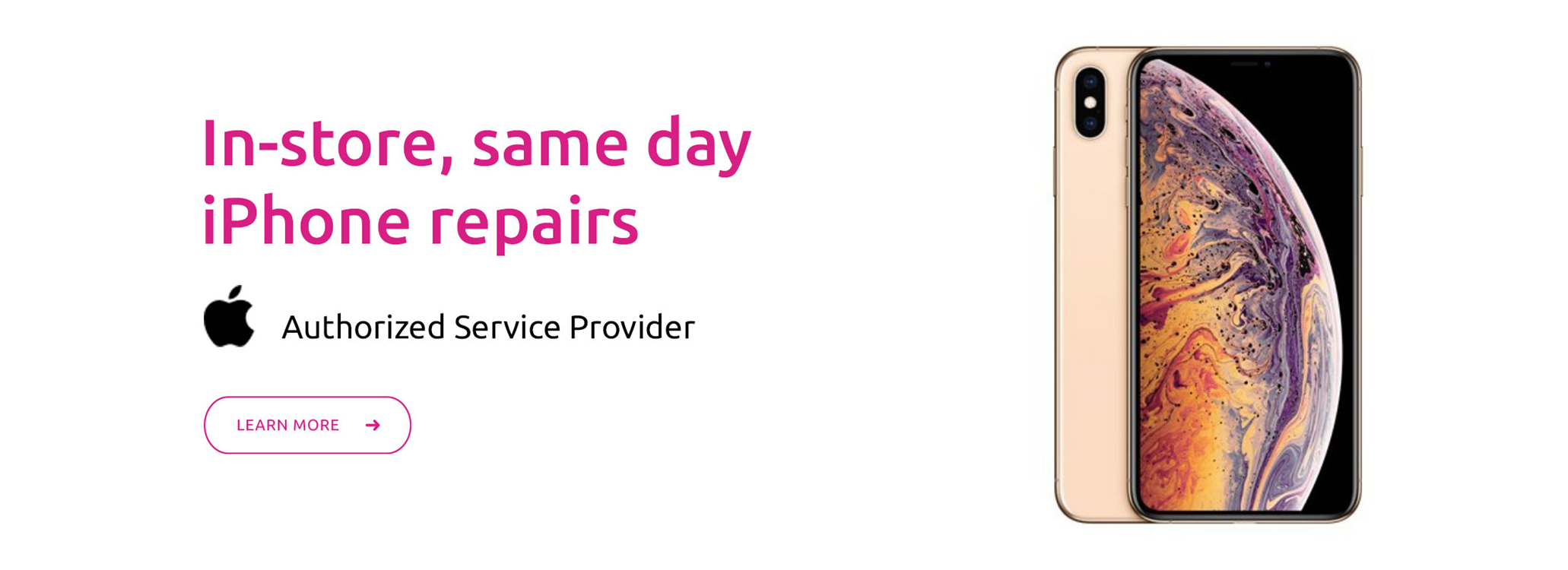 In-store, same day iPhone repairs