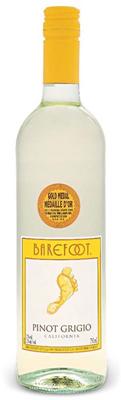 E & J Gallo Barefoot Cellars Pinot Grigio 750ml