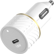 OtterBox 18W USB-C PD CLA Car Charger - White