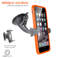 Ventev minipro window dashmount