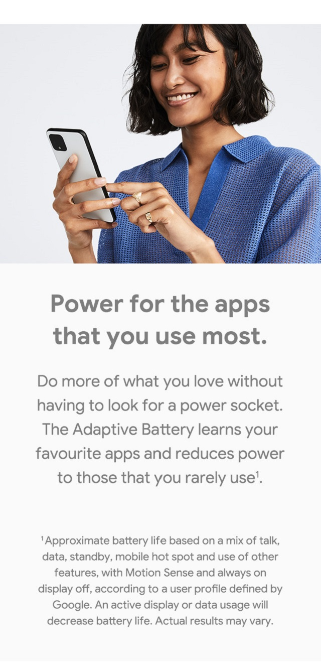 Adaptive Battery – Power for the apps you use the most