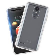 Case-Mate LG K40 Protection Pack Tough Clear Case Plus Glass Screen Protector