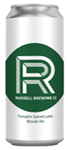 Russell Brewing Company Russell Brewing Pumpkin Spiced Latte 1892ml
