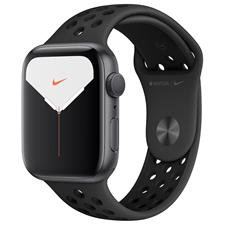 Apple Watch Nike S5 44MM Grey Aluminum Black Sportsband