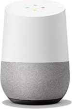 Google Home (Rock Candy) - White Smart Speaker