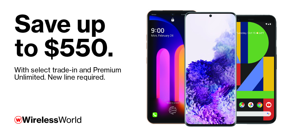 Save up to $550 on Premium Devices