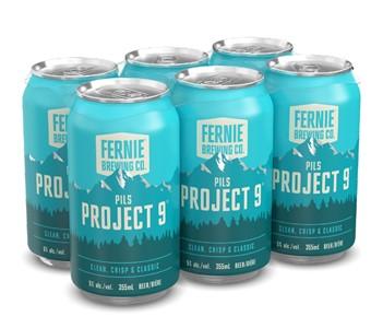Set The Bar Fernie Brewing Project 9 Pilsner 2130ml