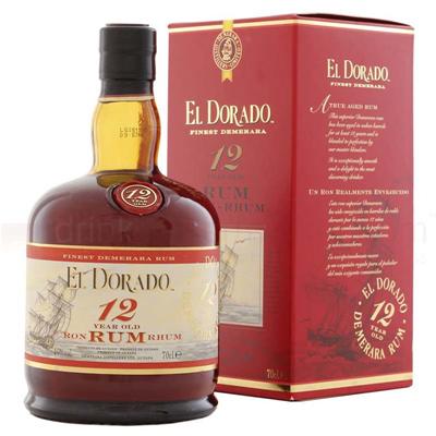 Demerara Distillers El Dorado 12 Year Old 750ml