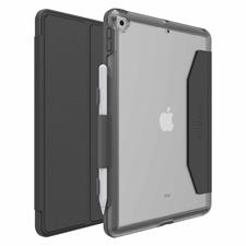 "OtterBox - iPad 10.2"" UnlimitEd Case w/Folio Pro Pack - Clear/Black"