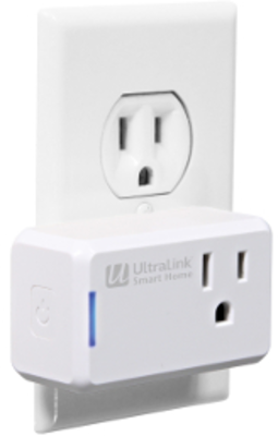 Ultralink Smart Home Wi-Fi Slim Plug