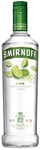 Diageo Canada Smirnoff Lime Vodka 750ml