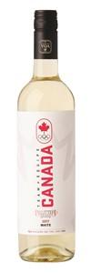 Vintage West Wine Marketing Pillitteri Estate Team Canada White VQA 750ml