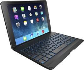 Zagg iPad Pro 9.7 Folio Case With Backlit Bluetooth Keyboard