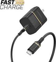 OtterBox - Premium Fast Charge PD Wall Charger 20W w/USB-C 3.3ft
