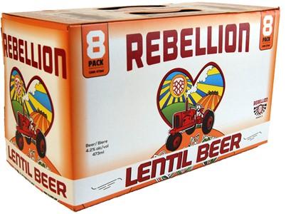 Rebellion Brewing Company 8C Rebellion Lentil 3784ml