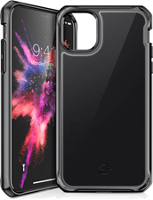 ITSKINS iPhone 11 Hybrid Glass Lridium Case