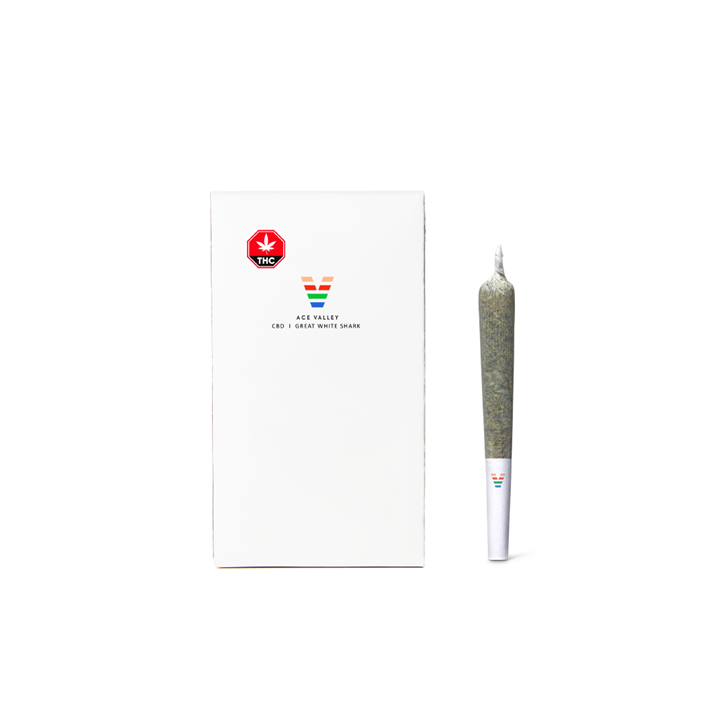 Great White Shark (CBD) - Ace Valley - Pre-Roll