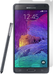 Gadgetguard Galaxy Note 4 Black Ice Screen Protector