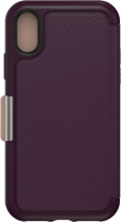 OtterBox iPhone XS MAX Leather Strada Folio Case