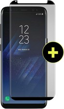 Gadget Guard Galaxy S8+ Black Ice Cornice Curved Edition Tempered Glass Screen Guard