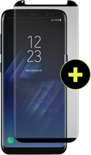 Gadgetguard Galaxy S8+ Black Ice Cornice Curved Edition Tempered Glass Screen Guard