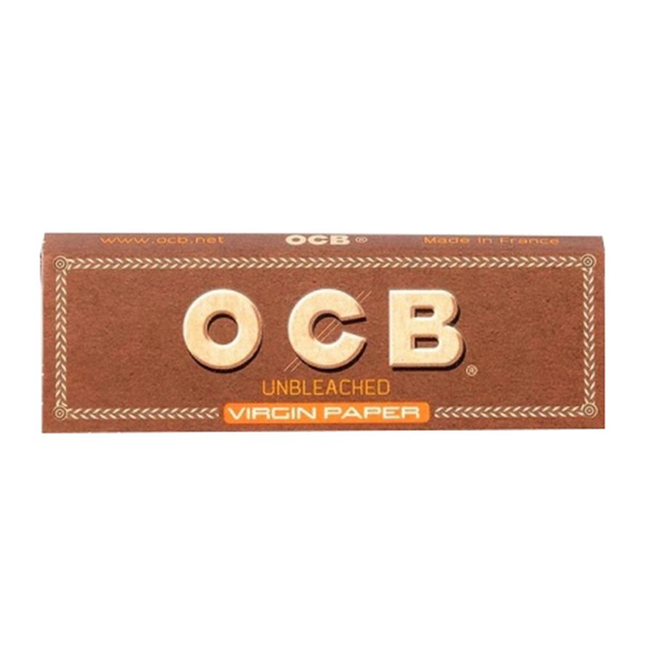 OCB, Virgin Unbleached Rolling Papers