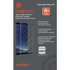 Ventev - Toughglass Edge To Edge Tempered Glass Screen Protector For Samsung Galaxy S9 Plus