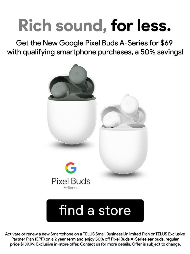 Get the Google Pixel Buds A-Series for $69 with Qualifying Purchases!