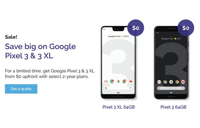 Google Pixel 3 & 3 XL on sale at Tom Harris Cellular TELUS