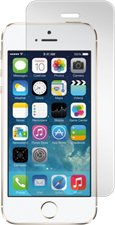 Gadgetguard iPhone 5/5s/5c/SE Black Ice Plus Edition Tempered Glass Screen Guard