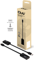 Club3D Club 3D - MiniDisplayPort 1.1 to HDMI 1.4 VR Ready Male to Female Passive Adapter Black