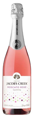 Corby Spirit & Wine Jacob's Creek Sparkling Moscato Rose 750ml