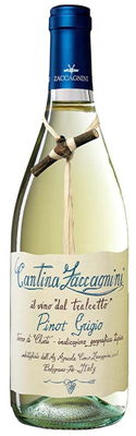 Andrew Peller Import Agency Zaccagnini Tralcetto Pinot Grigio IGT 750ml