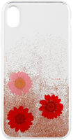 FLAVR iPhone XR iPlate Real Flower Case