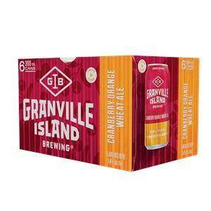 Molson Breweries 6C Granville Island Cranberry Orange Wheat Ale 2130ml