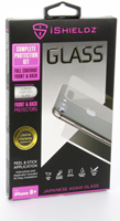 iShieldz iPhone 8 Plus 360 Tempered Glass Screen Protector (Front &  Back)
