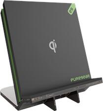 PureGear 1A Qi Wireless Charging Pad With Kickstand