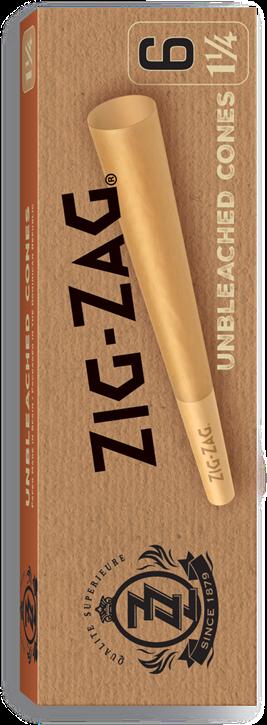 Zig-Zag, Unbleached Cones