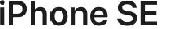 Apple iPhone SE logo
