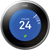 Google Nest Learning Thermostat (Stainless Steel) Smart Home 3rd Gen