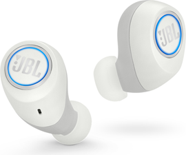 Jbl - Free Splashproof True Wireless In Ear Bluetooth Earbuds